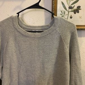 Madewell Province Cross-Back Pull Over Sweater